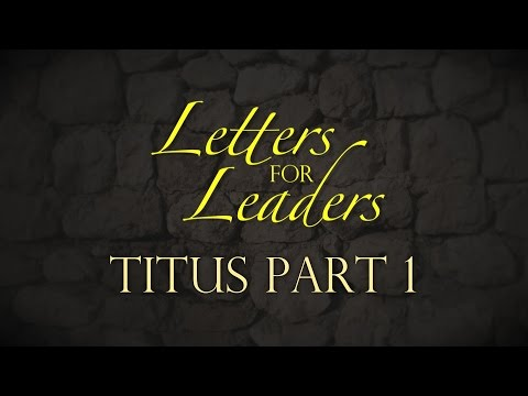 """Letters For Leaders"" Part 2 – Pastor Raymond Woodward"