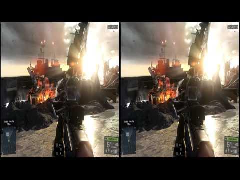 Battlefield 4 Oculus Rift DK2 Cinemizer OLED head tracking 1080p TriDef 3D DX11