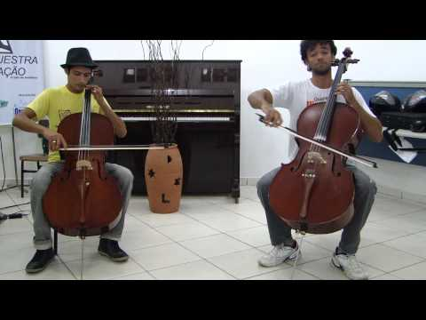 VIVA LA VIDA - Cold Play - 2 cellos - Paulo Sérgio Ferreira e Rae