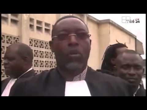 TÉLÉ 24 LIVE: Procès DENIS LESSIE, Francis KALOMBO en toge d'avocat pour la partie défendresse
