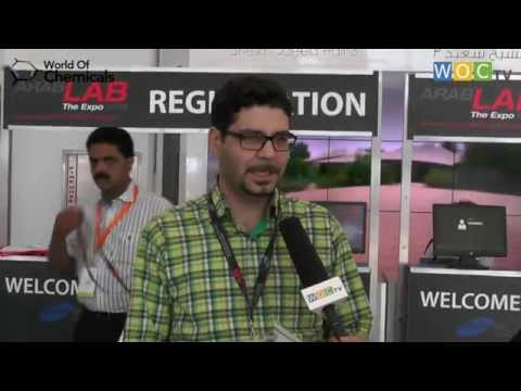 Visitors at ArabLAB 2015 -Kayzad Jafari