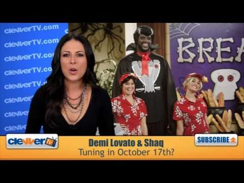 Demi Lovato & Shaq Join Forces For Halloween Special