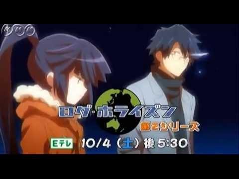 Log Horizon Saison 2; la Publicité de l'Anime