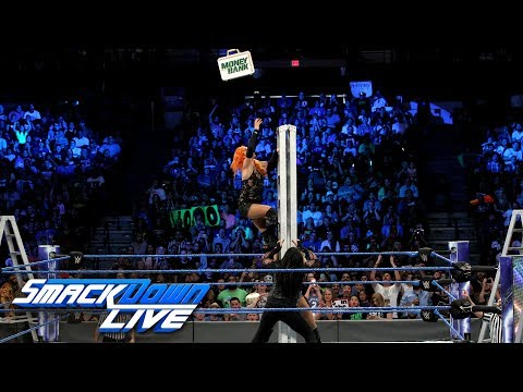 Women's Money in the Bank Ladder Match: SmackDown LIVE, June 27, 2017 (видео)