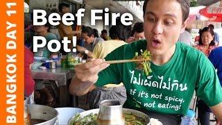 Video Flaming Thai Beef Soup & Bike Ride at Bang Krachao (บางกระเจ้า) - Bangkok Day 11 MP3, 3GP, MP4, WEBM, AVI, FLV Februari 2019
