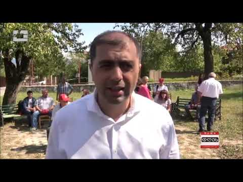 """""""თავისუფალი საქართველოს"""" ლიდერები, საჩხერეში ადგილობრივ ამომრჩევლებს შეხვდნენ"""
