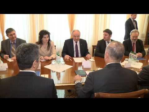 Președintele Nicolae Timofti a avut o întrevedere cu ministrul Afacerilor Externe al Turciei, Mevlüt Çavuşoğlu