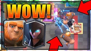 Cool deck I thought I'd share, if you're missing cards I'll help you replace them. Free Gems: http://cashforap.ps/Superior NEW GIANT CYCLE DECK!  Clash Roya...