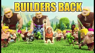Video Clash of Clans Mini Story | The Builder is Back!!! - Missing Builder Sent Home from Real World | CoC MP3, 3GP, MP4, WEBM, AVI, FLV Agustus 2017