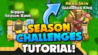 Season Challenges EXPLAINED in Clash of Clans!! New Hero Skin | COC Update 2019!