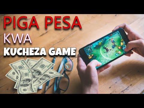 Tengeneza pesa kwa kucheza GAME kwenye simu yako!