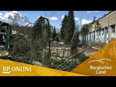 Solingen: Der Abriss des Union-Stadions hat begonnen