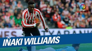 Enjoy the best goals of Inaki Williams with Athletic Club in LaLiga!Subscribe to the Official Channel of LaLiga in High Definition http://goo.gl/Cp0tCLaLiga Santander on YouTube: http://goo.gl/Cp0tCLaCopa on YouTube: http://bit.ly/1P4ZriPLaLiga 123 on YouTube: http://bit.ly/1OvSXbiFacebook: https://www.facebook.com/lfpoficialTwitter: https://twitter.com/LaLigaInstagram: https://instagram.com/laligaGoogle+: http://goo.gl/46Py9