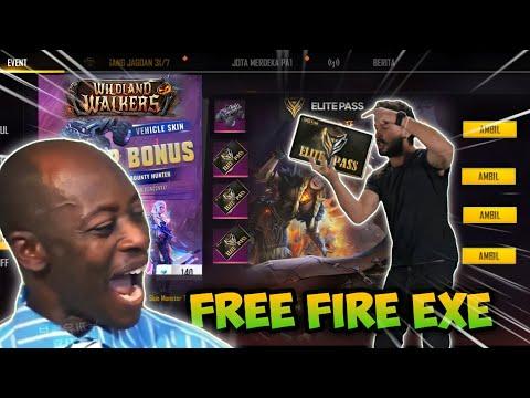 FREE FIRE EXE 120 😂 || Elite Pass .exe ( ff.exe )