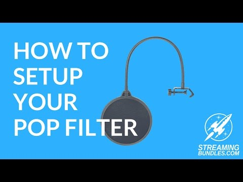How to Setup Your Pop Filter (видео)