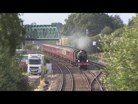 LNER 61306 'Mayflower' at Wilmcote and Aynho with The Cat...