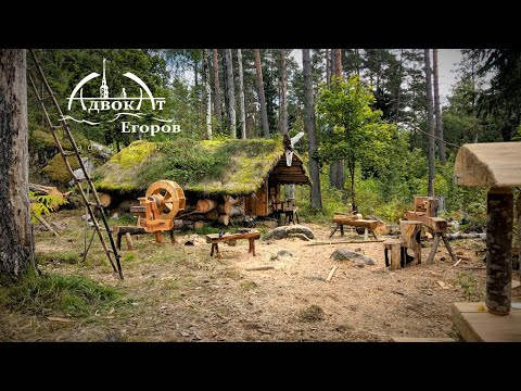 DIY Tools, Outdoor Workshop, Log Cabin Remodel / Season 6 episode 10