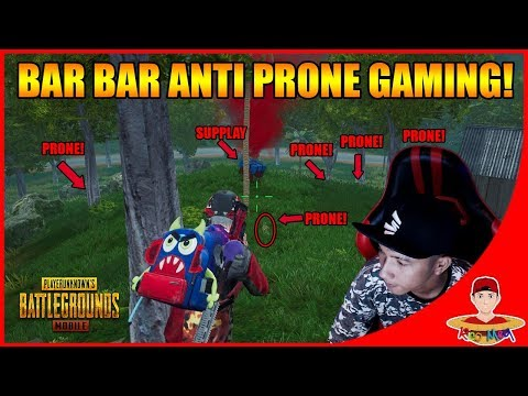 TAK GENTAR ! ANTI PRONE & BAR BAR CARI MUSUH !! PUBG Mobile Indonesia