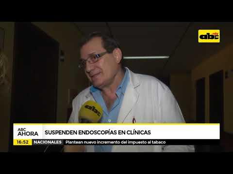 Suspenden endoscopias en Clínicas
