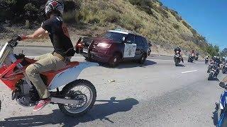 Video Cop tries to stop group of bikers.. Then this happens.... MP3, 3GP, MP4, WEBM, AVI, FLV Januari 2019