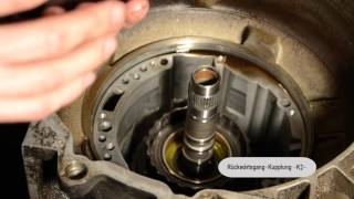 HOW TO: 01M VR6 Automatikgetriebe Reparatur automatic gearbox transmission disassembling MK3 Golf 3