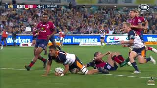 Brumbies v Reds Rd.8 2018 Super Rugby video highlights