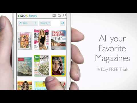 Video of NOOK – Read Books & Magazines