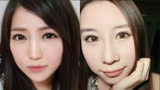 Geo Honey Wing Circle Lenses from Lens Circle http://lenscircle.com/wing_circle_lens_brown_color_contacts.html