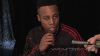 Scotty Hopson Draft Combine Interview