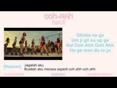 Video TWICE - OOH-AHH [MV, EASY LYRIC, LIRIK INDONESIA] download in MP3, 3GP, MP4, WEBM, AVI, FLV January 2017