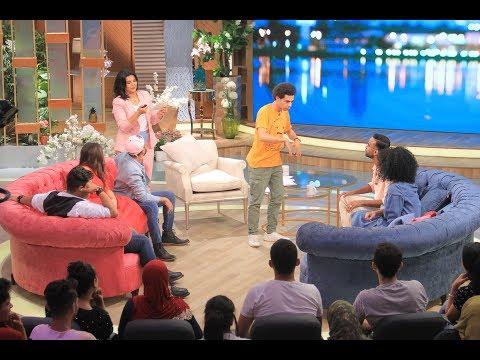 """اللقاء الكامل لمنى الشاذلي مع أبطال """"SNL بالعربي"""""""