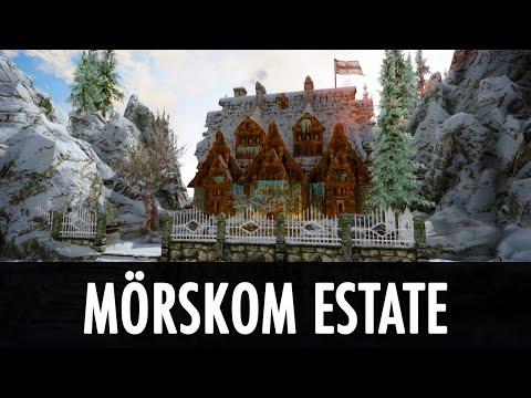 Skyrim Mod: Player Built Home – Mörskom Estate