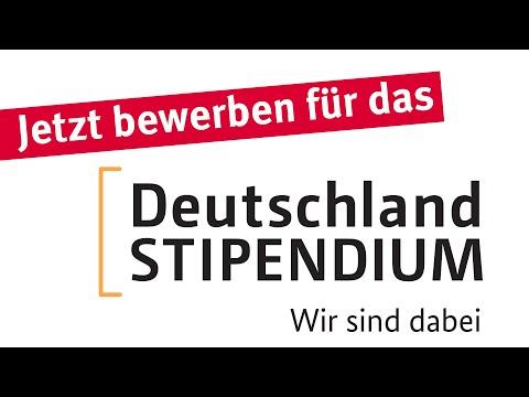 Deutschlandstipendium? Lohnt sich!