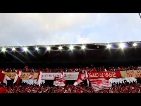 Abónate león - La Guardia Albi Roja Sur - Independiente Santa Fe