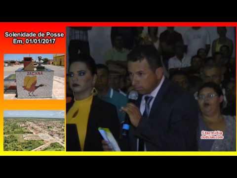Em Jaçanã Rn na posse, vereador de oposição é vaiado durante todo discuso - Starmidia