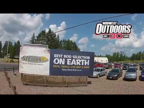 St Croix Rod Factory Tour of Park Falls, Wisconsin