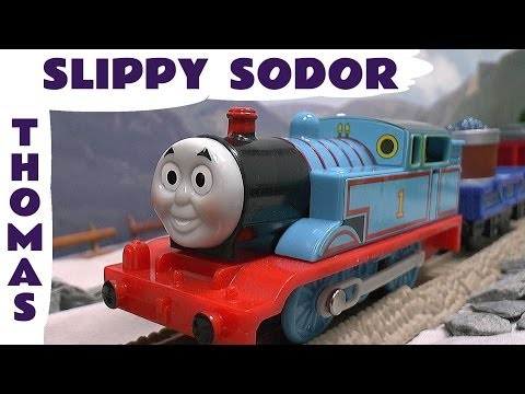 slippy - This is the Thomas and Friends Trackmaster Thomas In Slippy Sodor for Thomas The Tank Engine Trackmaster and Tomy Train Sets. Thomas is based on the episode, Slippy Sodor, in which Thomas has...