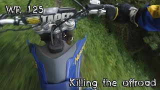 8. Husqvarna 125 killing the off-road