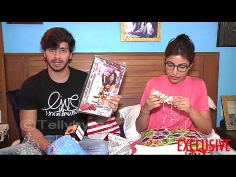 Param and Harshita receive gifts from fans part 2