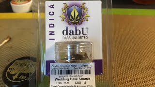 Wedding Cake Shatter by Phat Robs Oils