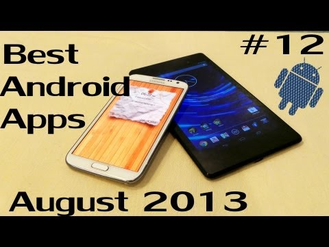 Android - These are some of the Best Android Apps for this Month (August 2013). Most of these apps are New to Android where as some of them are updated with new featur...