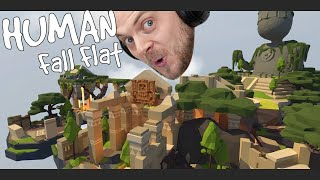 HUMAN FALL FLAT! W/Stamps! Aztec Level! by iBallisticSquid