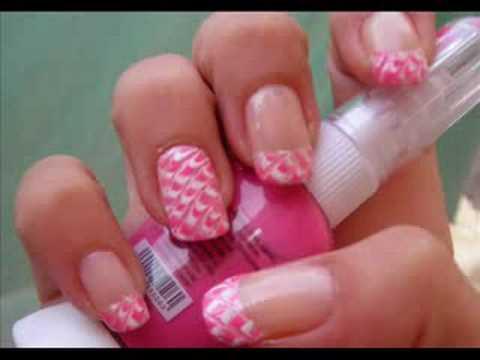 nail art - effetto squamato