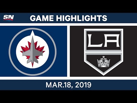 NHL Game Highlights | Jets vs. Kings - March 18, 2019