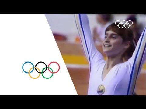 Video Nadia Comaneci - First Perfect 10 | Montreal 1976 Olympics download in MP3, 3GP, MP4, WEBM, AVI, FLV January 2017