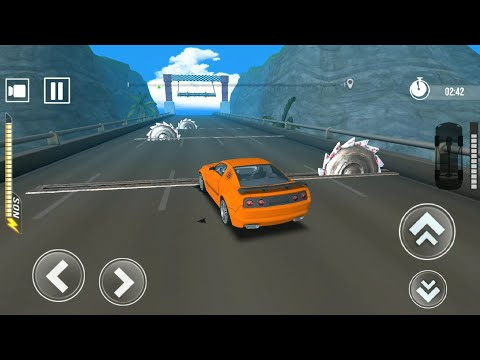 Crazy Car Crushing #3 Impossible Car Challenge - Android Gameplay
