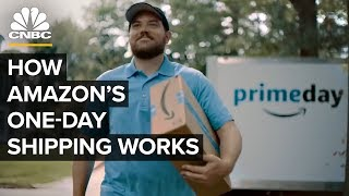 Video How Amazon Delivers On One-Day Shipping MP3, 3GP, MP4, WEBM, AVI, FLV Juli 2019