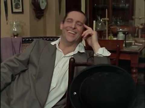 Sherlock Holmes (Jeremy Brett) Gets Excitable