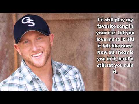 Cole Swindell-Break Up In The End-Lyrics