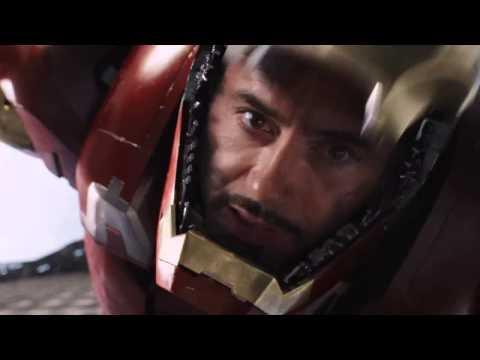 Iron Man gör en genomtänkt flygvändning